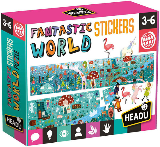 Image de Headu Fantastic World Stickers 24933