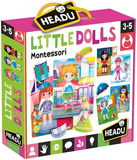 Image de HEADU Montessori my little dolls MU24827