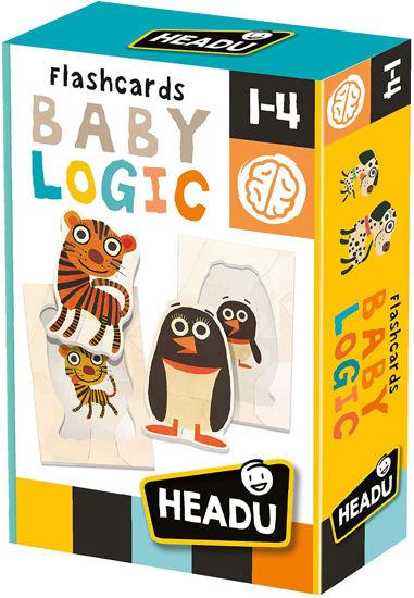 Image de Headu flashcards Baby Logic 23813