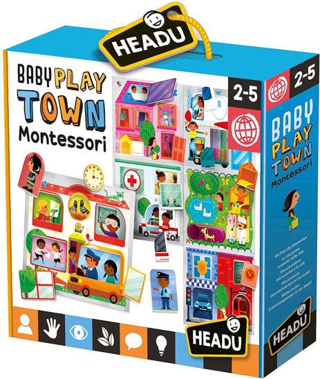 Image de HEADU baby play town montessori MU23615