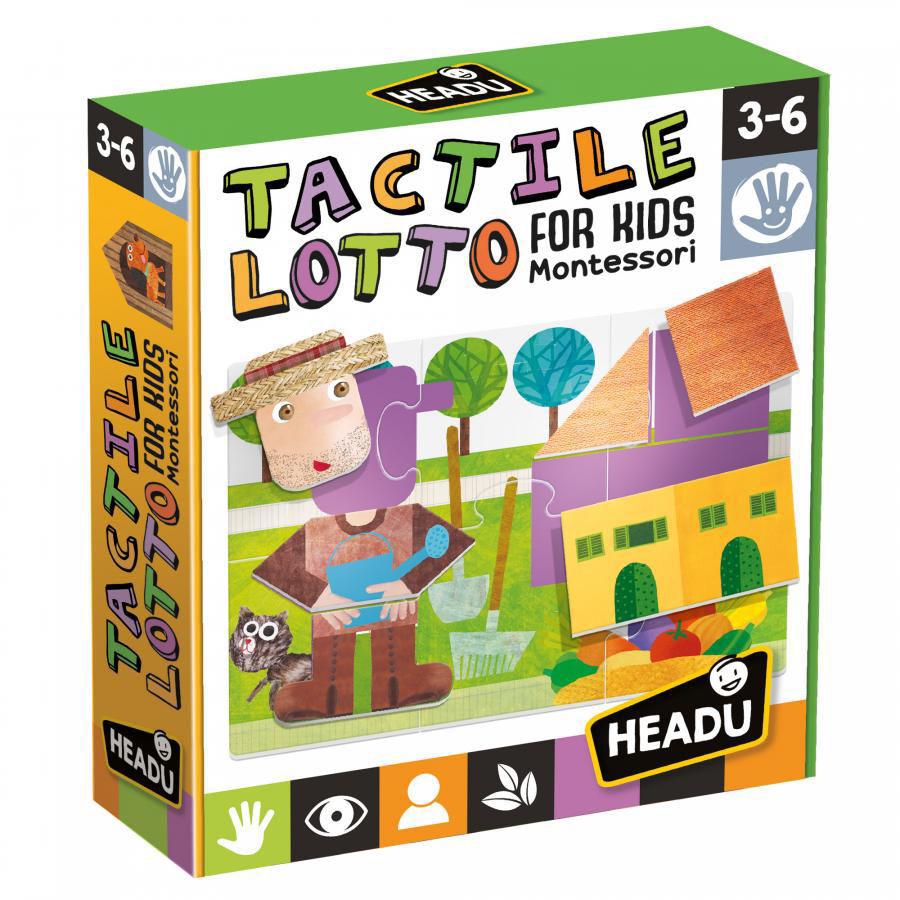 Image de HEADU Tactile lotto for kids montessori MU25374