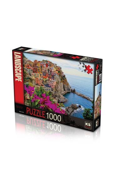 """Image de KS Puzzle """"Village Of Manarola""""  1000 pièces 11309"""
