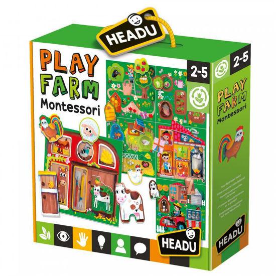 Image de HEADU BABY PLAY FARM MONTESSORI MU23608