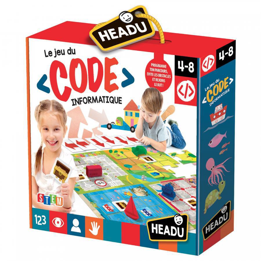 Image de Headu Le Jeu du Code Informatique 22458