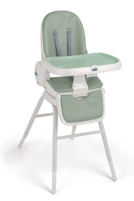 Image de Chaise haute original 4 in 1 (vert-rose-gris)