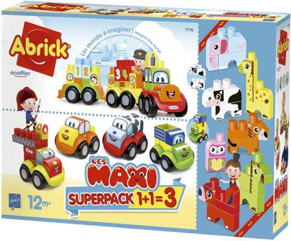 Image de Ecoiffier Super pack 3 en 1 Maxi Abrick 7770