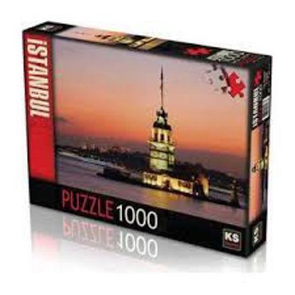 Image de puzzle 1000pc coucher a maidem tower ks-11287