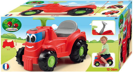 Image de Ecoiffier Tracteur porteur 351