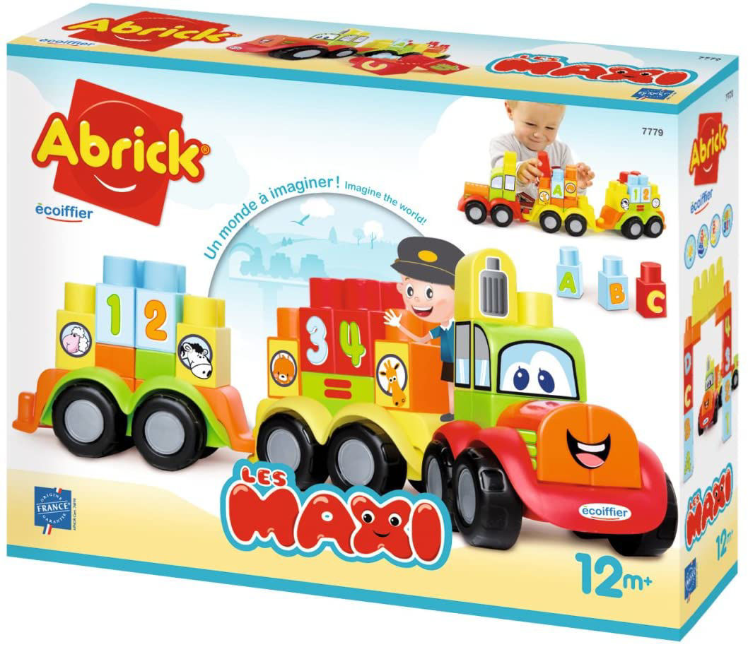 Image de Ecoiffier Mon 1er train Abrick Maxi 7779
