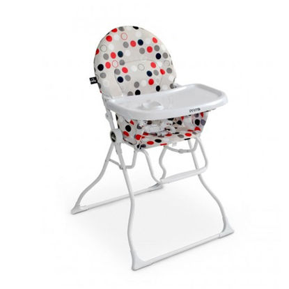 Image de chaise haute magic bulle rouge