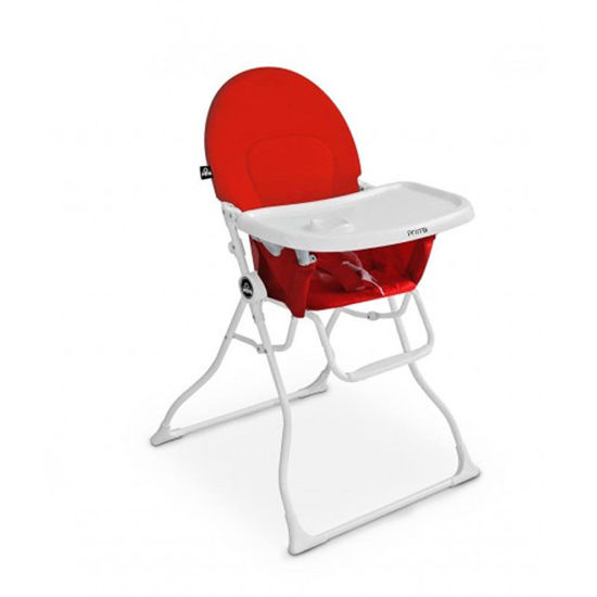 Image de Chaise haute magic rouge