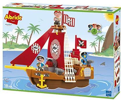 Image de Ecoiffier Bateau pirate Abrick 3023