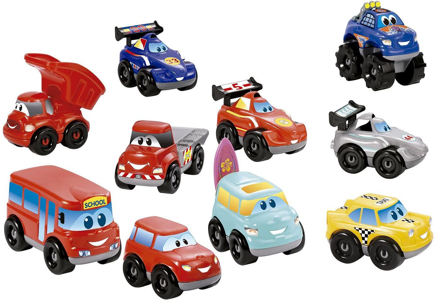 Image de Ecoiffier Coffret 10 véhicules Fast Cars Abrick 3269
