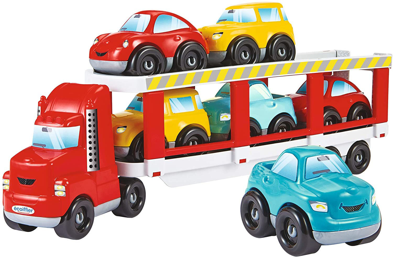 Image de Ecoiffier  Abrick Transport Porte 1 Camion + 6 Voitures 3289