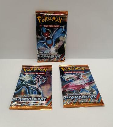 Image de 3 paquets de Pokémon black white