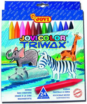 Image de jovi 24 crayon triwax 973/24