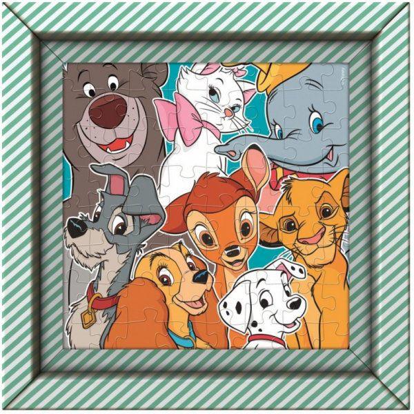Image de puzzle Disney Animals junior 27 cm en carton 61 pièces
