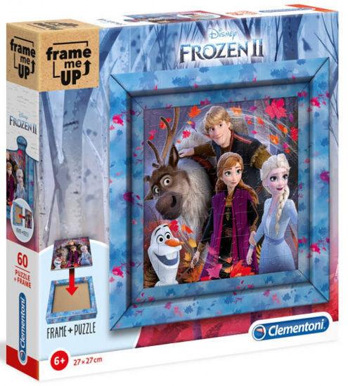 Image de clementoni  puzzle Frozen II filles 27 cm carton 61 pièces