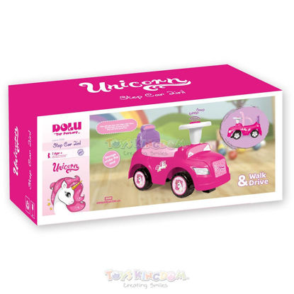 Image de DOLU-UNICORN STEP CAR 2EN1 Pink2532