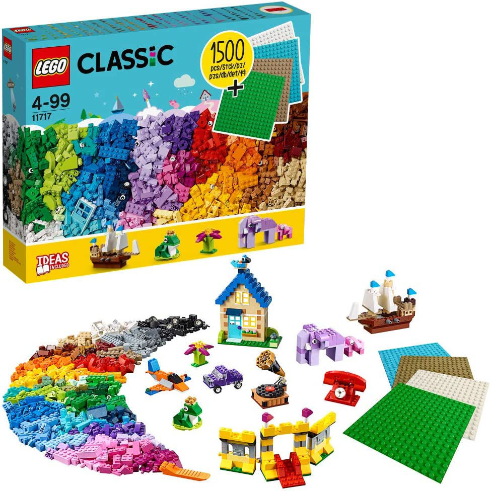 Image de LEGO Classic  1500 pièces. 11717