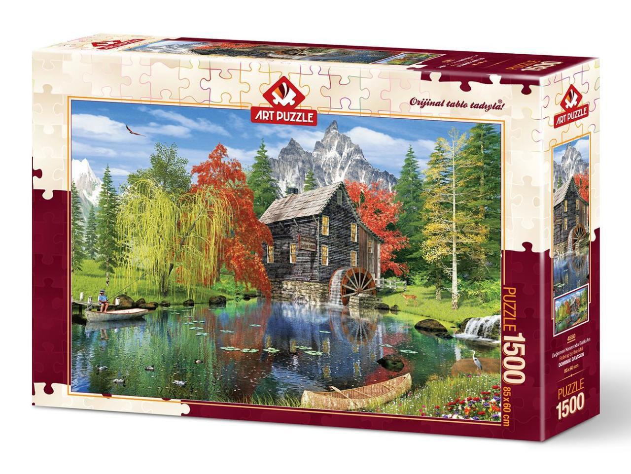 Image de ART PUZZLE Near the Mill  1500 pièces 4550