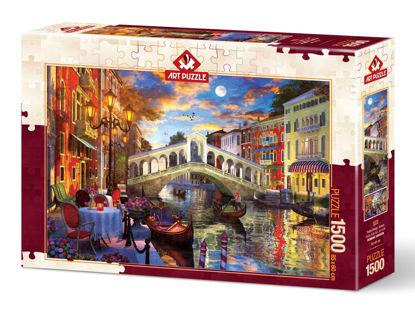 Image de ART PUZZLE 1500 PCS  RIALTO BRIDGE, VENICE 5372