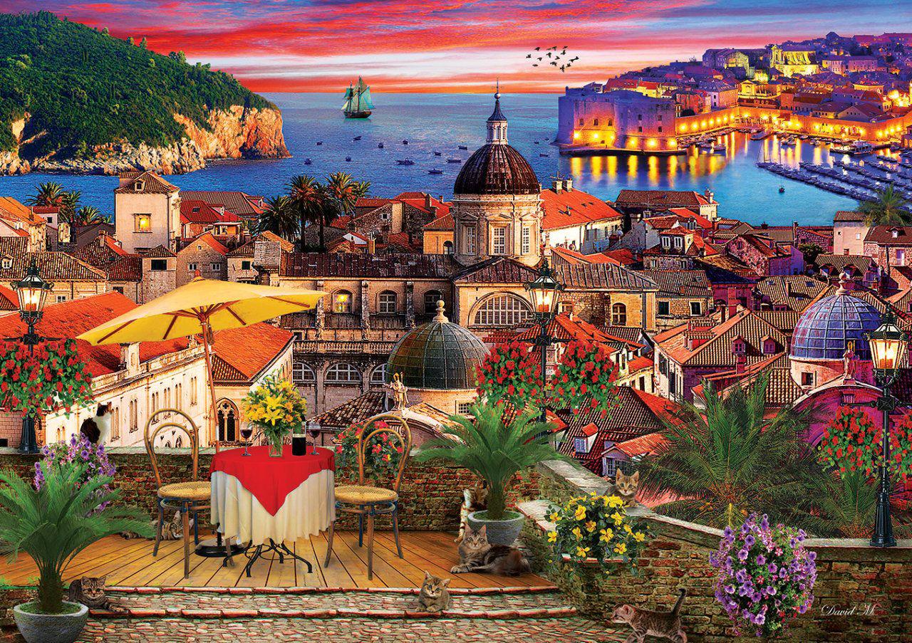 Image de Art Puzzle Dubrovnik 1000 pièces 5178