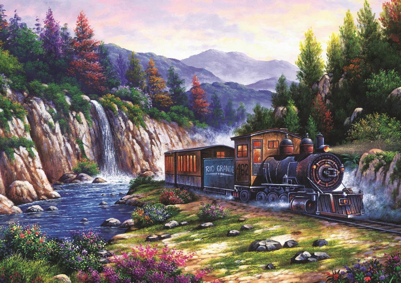 Image de Art Puzzle Voyage en Train 1000 pièces 4233