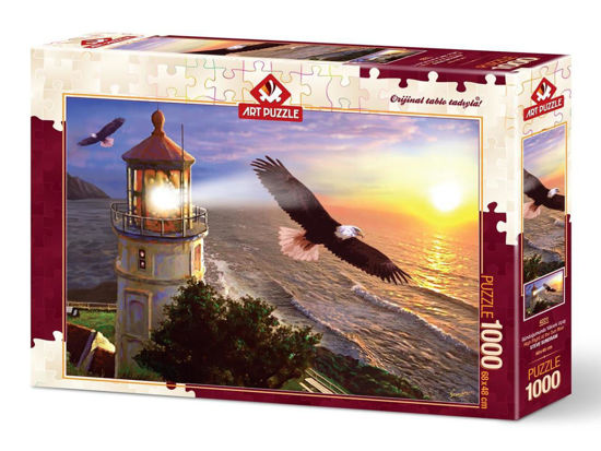 Image de Art Puzzle High Flight at the Sun Rise 1000 pièces 4221