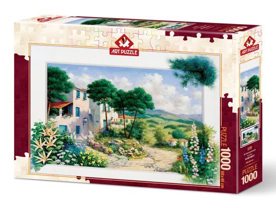 Image de Art Puzzle In Summerhouse 1000 pièces 5180