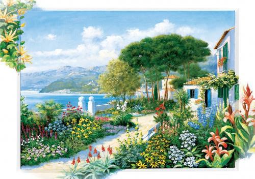 Image de ART PUZZLE 1500 PCS COASTLINE TOWN 5370