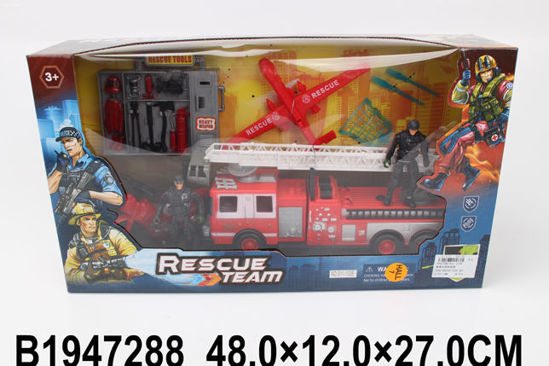 Image de FIRE RESCUE PLAY SET