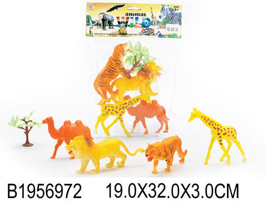 Image de 4PCS ANIMAL&TREE