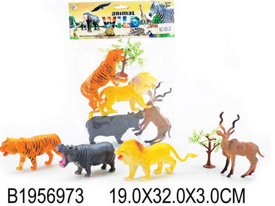 Image de 4PCS ANIMAL&TREE