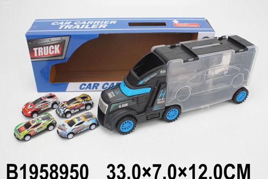 Image de FREE WHEEL TRUCK  W/4PCS CARS