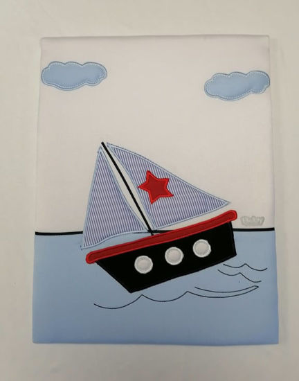 "Image de Pangui Tableau Marin ""bateau, ancre ou far"""