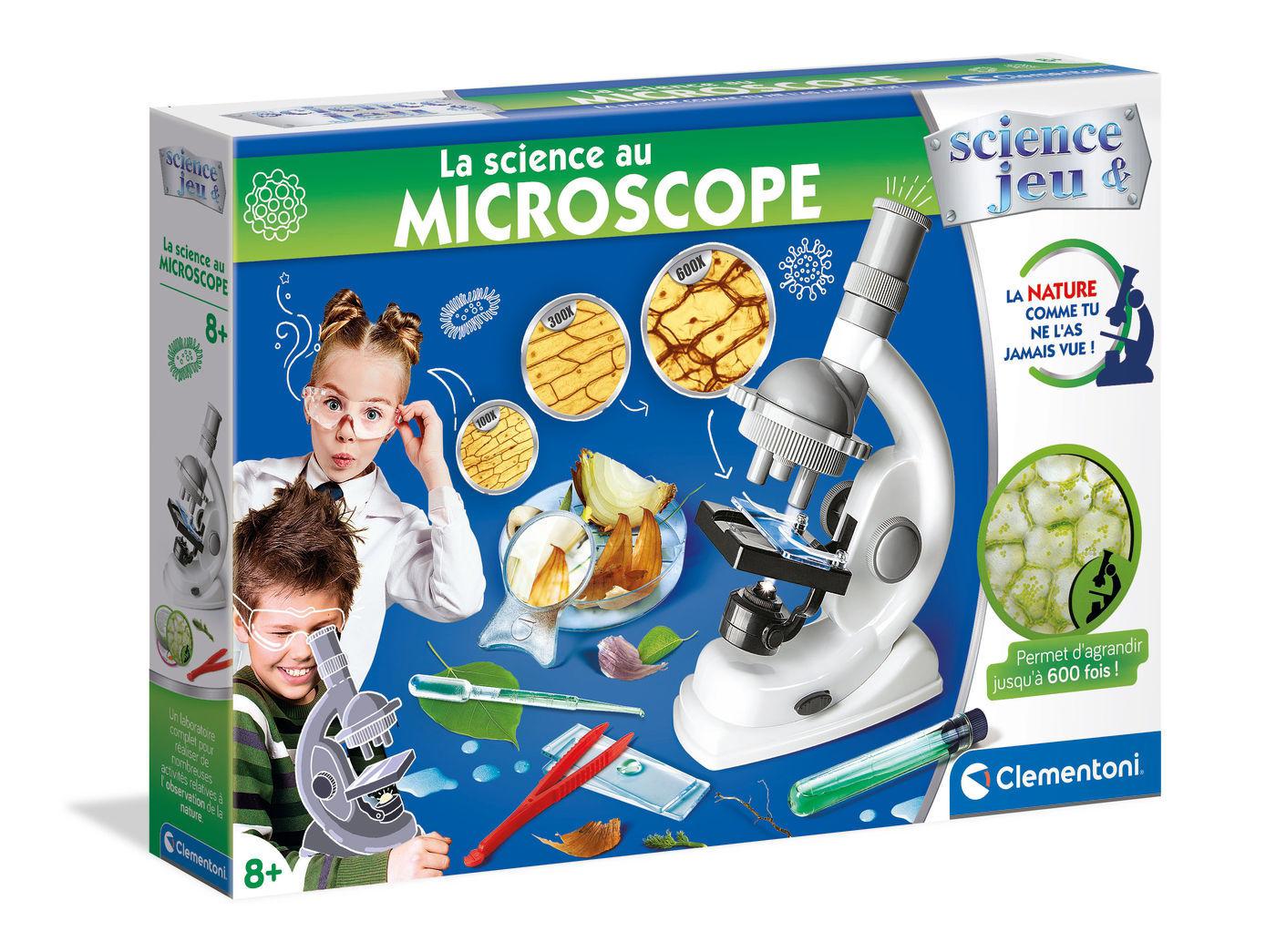 Image de Clementoni La science au microscope 52525