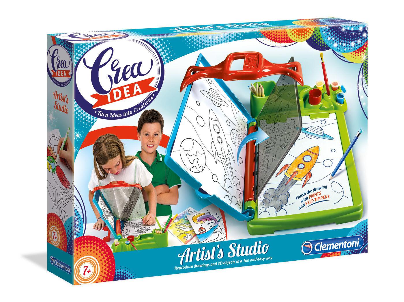 Image de Clementoni Crea Idea - Artist's Studio 15238