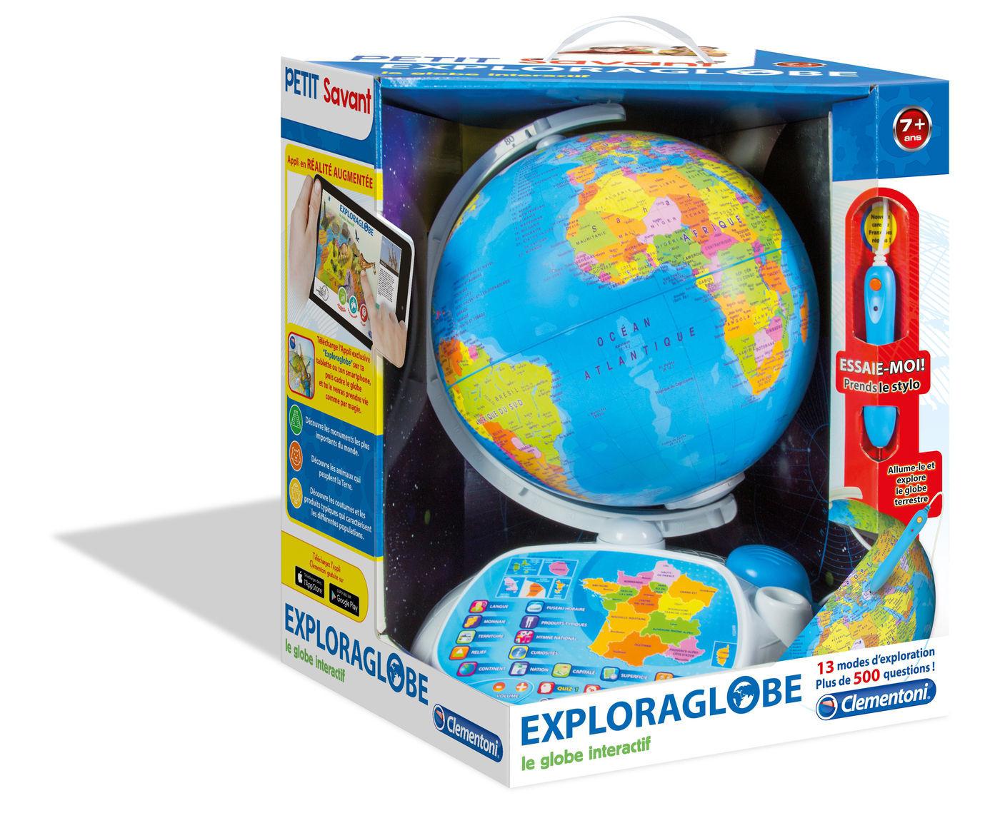Image de Clementoni Exploraglobe - Le globe interactif 52202