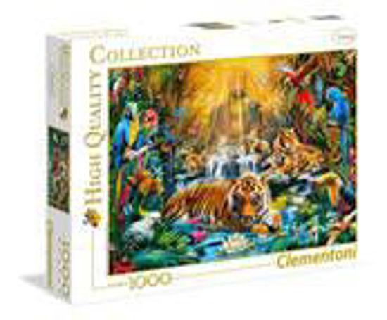 Image de Clementoni Mystic Tigres 1000 pièces