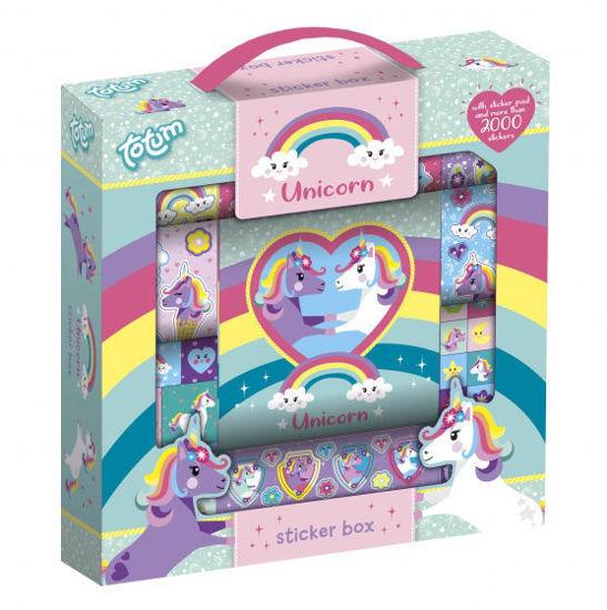Image de Totum stickerbox Unicorn  2000 pièces 071391