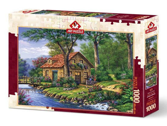 Image de ART PUZZLE 1000 PCS  ALONG THE PEACE 5172