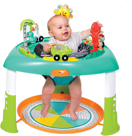 Image de INFANTINO SIT, SPIN & STAND ENTERTAINER 360 SEAT & ACTIVITY TABLE
