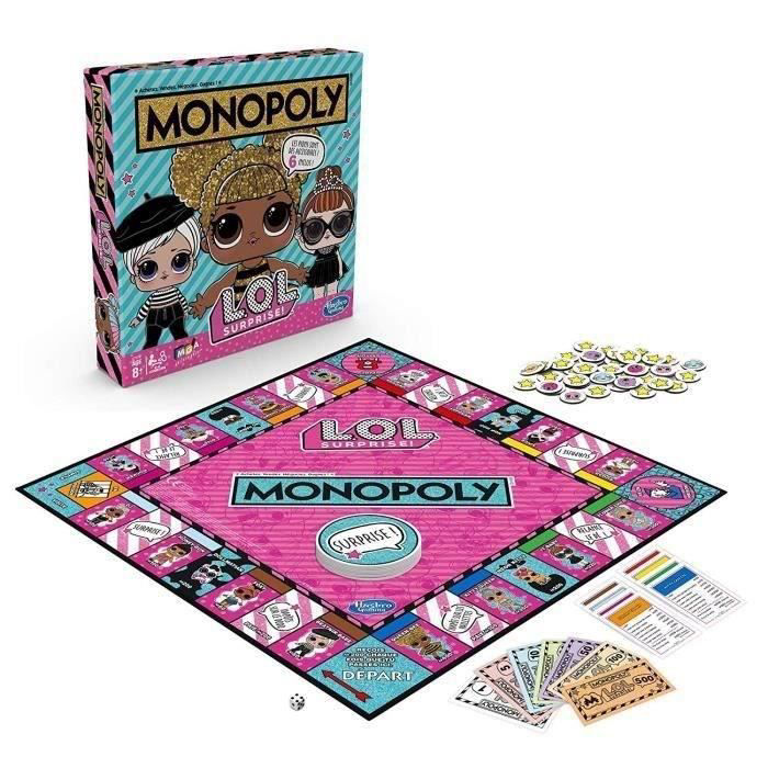 Image de MONOPOLY LOL SURPRISE E7572/102