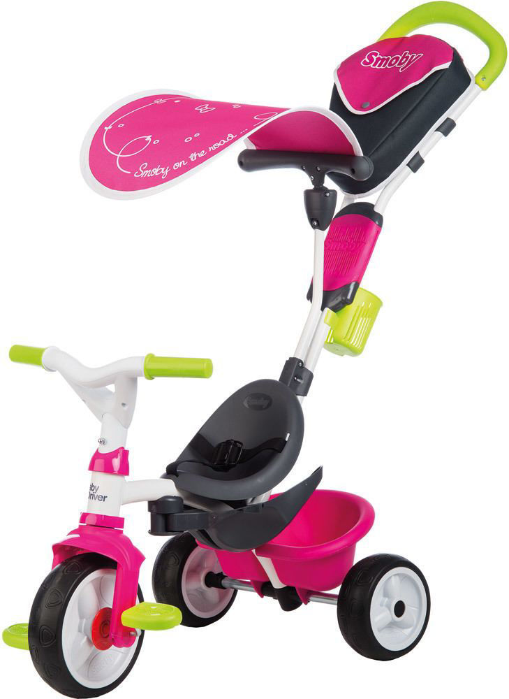 Image de TRICYCLE BABY DRIVER CONFORT ROSE 741201