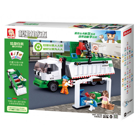 Image de Garbage truck + card game