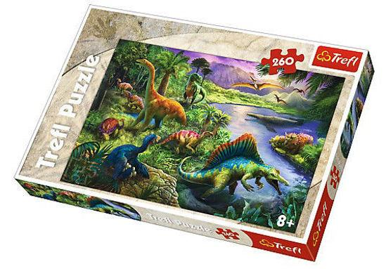 Image de Puzzel 260 dinosares 13214