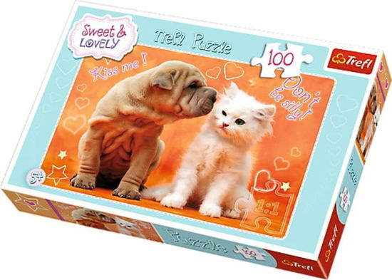 Image de PUZZLE 100 SWEET AND LOVELY 16264