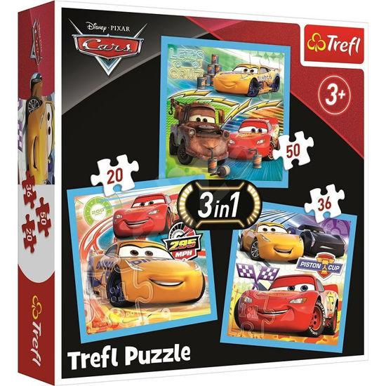 Image de PUZZLE 3EN1 CARS 3 3484