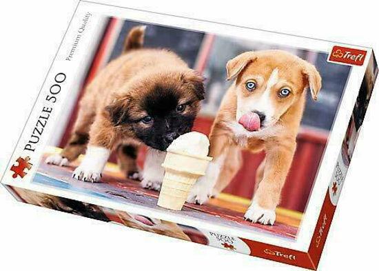 Image de PUZZLE 500 ICE CREAM 37272